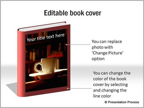 Book Cover template from PowerPoint CEO Pack 2