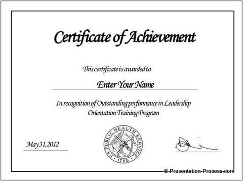 Final PowerPoint Certificate