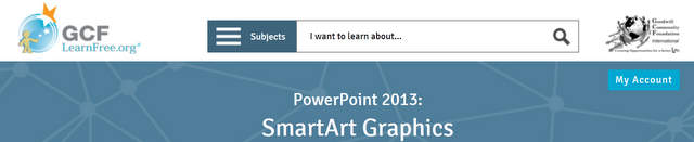 GCF Learnfree Post on SmartArt
