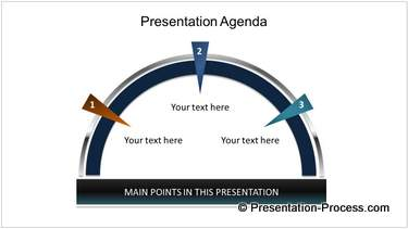 Animated Flags Agenda in PowerPoint