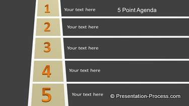 PowerPoint Roadmap Agenda