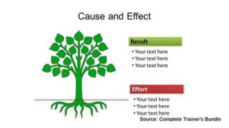 Tree Cause Effect PowerPoint Template