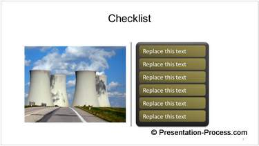 Checklist with Image