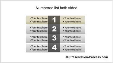 Numbered Checklist