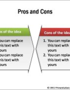 Pros and cons graphics also powerpoint comparison template rh presentation process