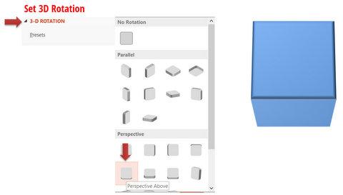 3D PowerPoint Cube