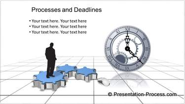 PowerPoint Gears for Process