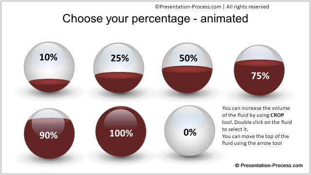 PowerPoint spheres options