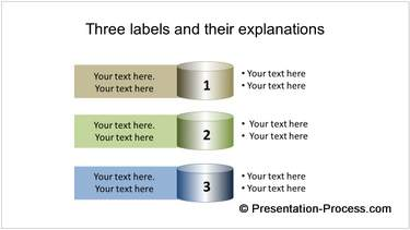 Colorful PowerPoint List