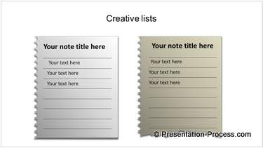 Notepad List