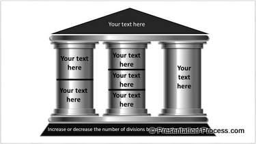3 Column 3D Pillar