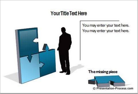 3d PowerPoint Puzzle Diagram
