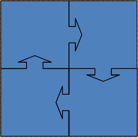 PowerPoint Puzzle Diagram