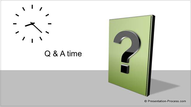 questions slide, Modern powerpoint