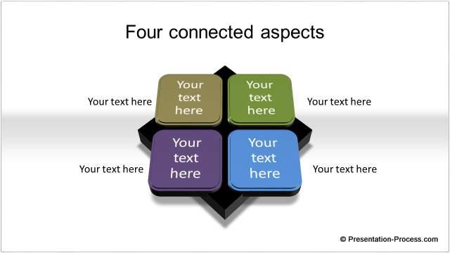 PowerPoint Smartart Style Diagram