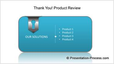 Product Presentation End Slide