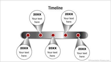 Metallic Stylish Timeline Diagram CEO Pack