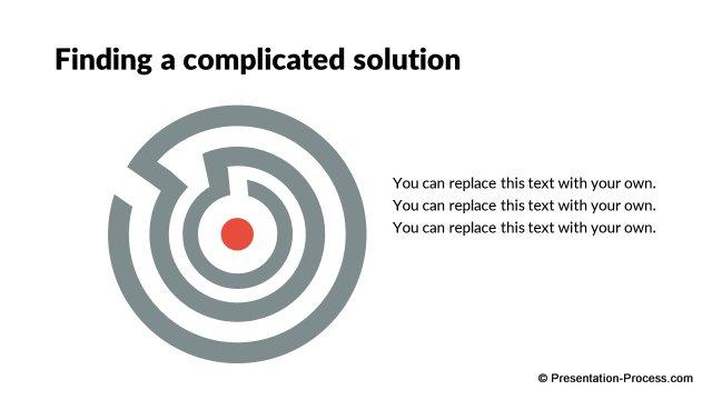 Flat Design Templates: PowerPoint Game Metaphors