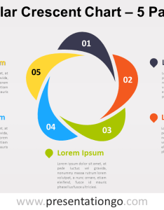 View larger image free editable circular crescent powerpoint diagram with parts also chart presentationgo rh
