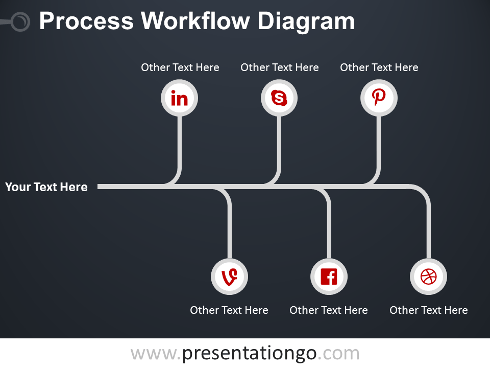 Free Flow Chart Templates for PowerPoint - PresentationGo.com