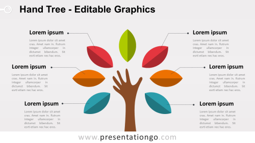 small resolution of hand tree powerpoint diagram widescreen size 16 9