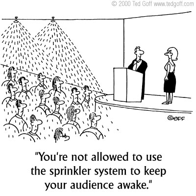 Presentation humour to brighten your day