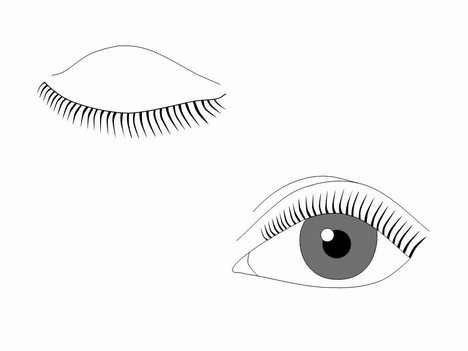 Eye Outlines Template