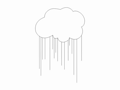 Cloud Symbol Outlines