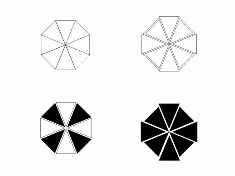 Octagon Clip Art Template
