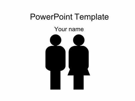 Male and Female Template