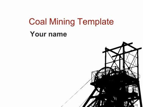 Coal Mining Template