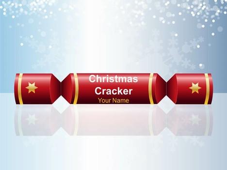 Christmas Cracker Cool PowerPoint Template