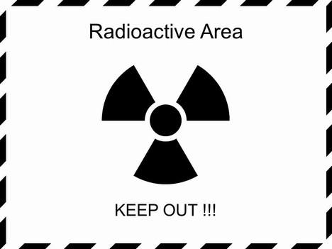 Radiation Warning Sign Graphics