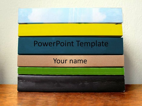 Book Stack Template