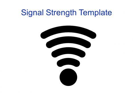 Wireless Signal Strength Template