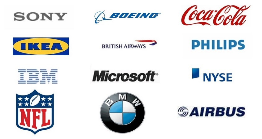 list of our customers