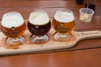 Beer Signage for Maredsous Abbey 1