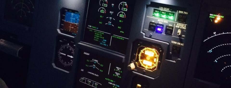 Why a Flight Simulator Company Uses Airport Flight Information Screens