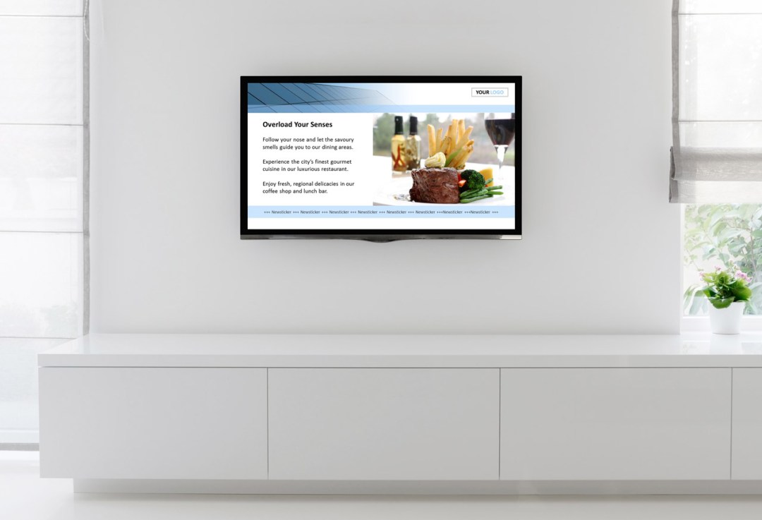 easy digital signage with showpoint software