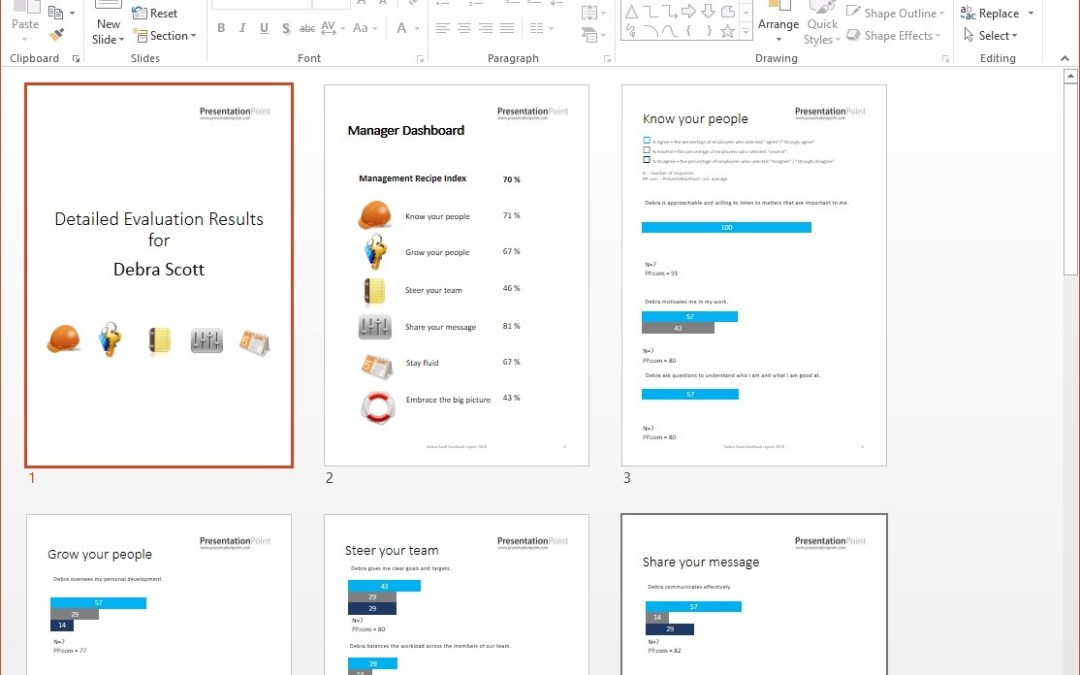 Mail Merge Presentations in PowerPoint like a Copying Machine