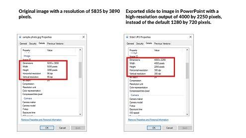 Convert PowerPoint to JPEG (High Quality)