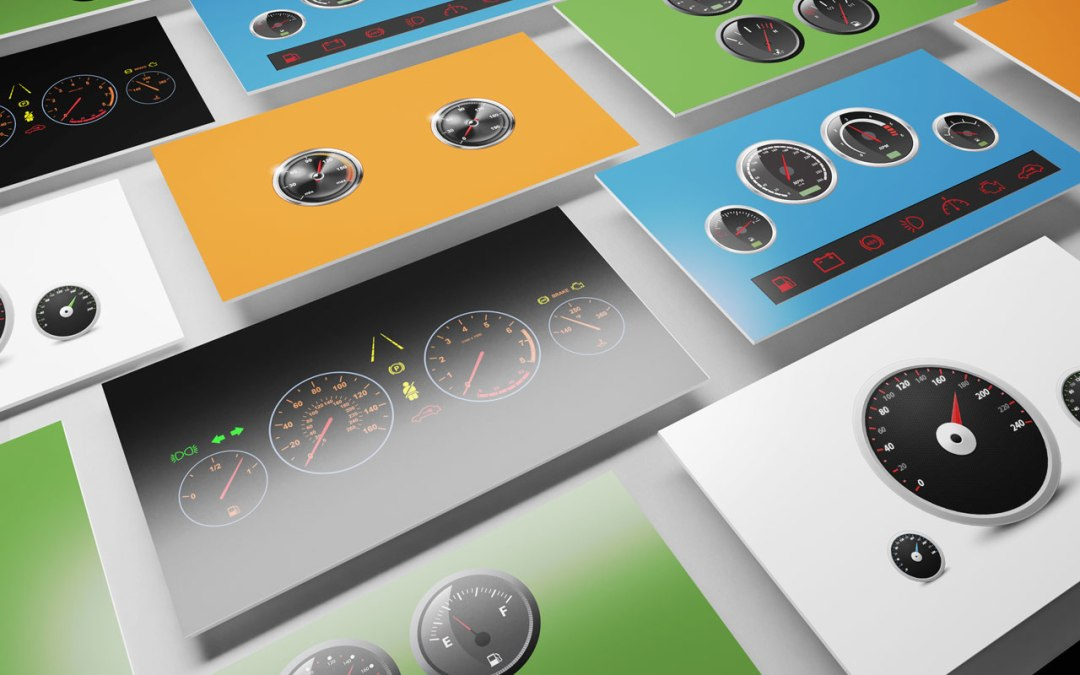 Dashboard Speedometer Template