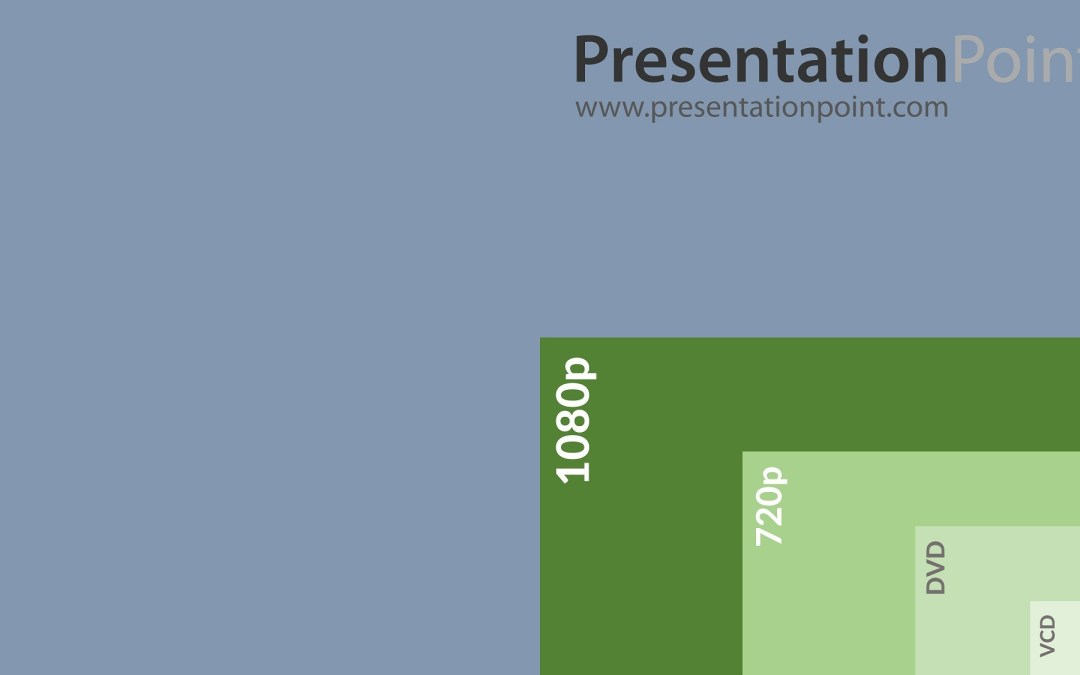 4K Television Screen Designs In PowerPoint