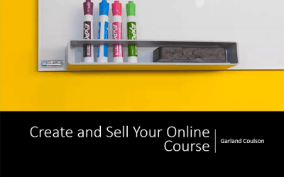 Creating and Selling Online Courses