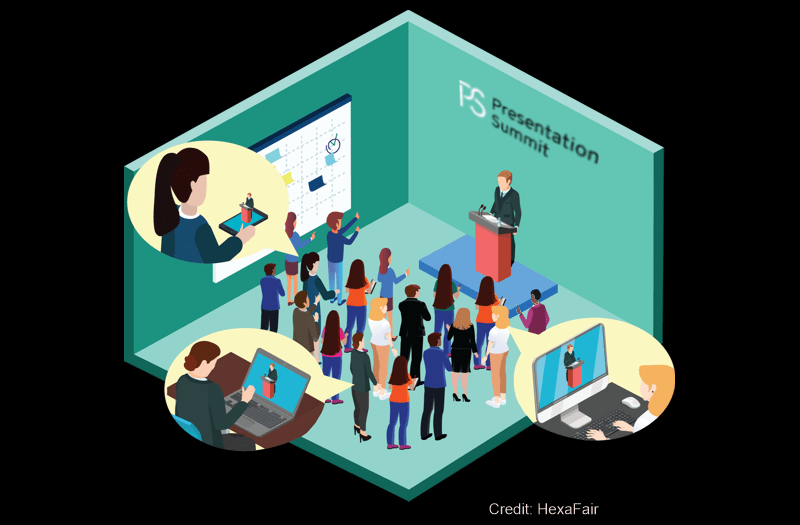 Visit us at the Virtual Presentation Summit, Aug 2020