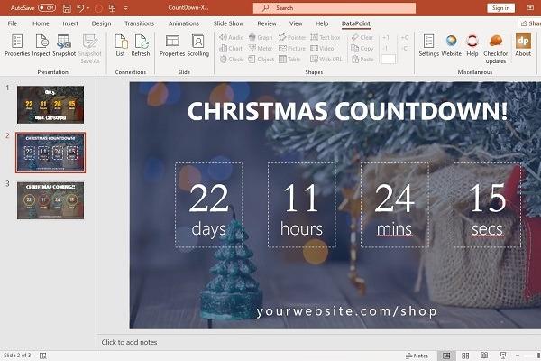 Countdown to Christmas 2019