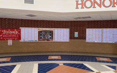 Teacher Recognition Program at Seven Lakes School