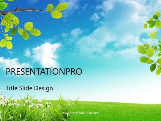 nature landscape powerpoint template
