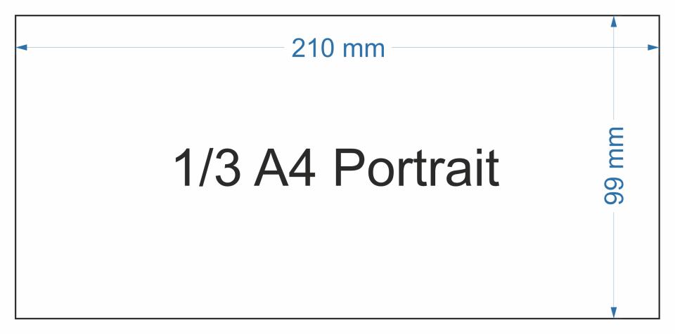 1/3 A4 P DinKey 3mm Face cover 10 sheet pack, Presentation