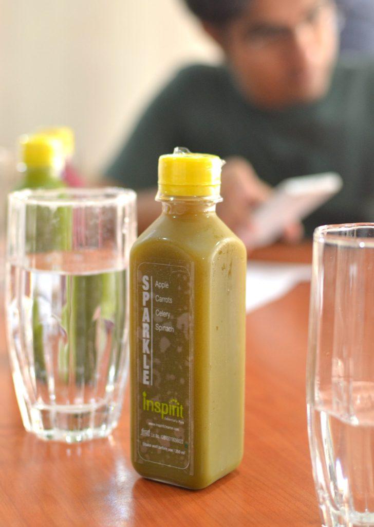 inspirit cleanse fresh juice kolkata